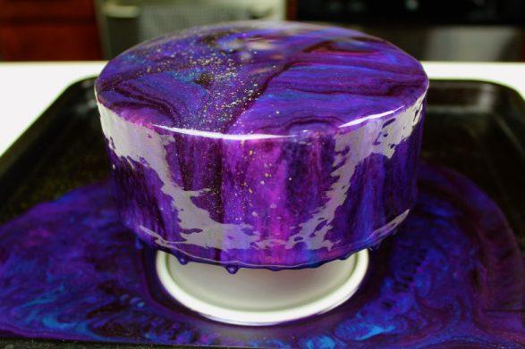 La galaxia en una torta