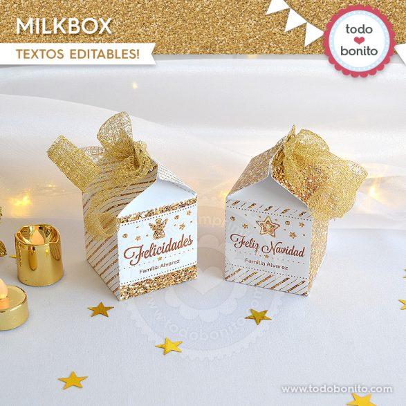 Milkbox de navidad