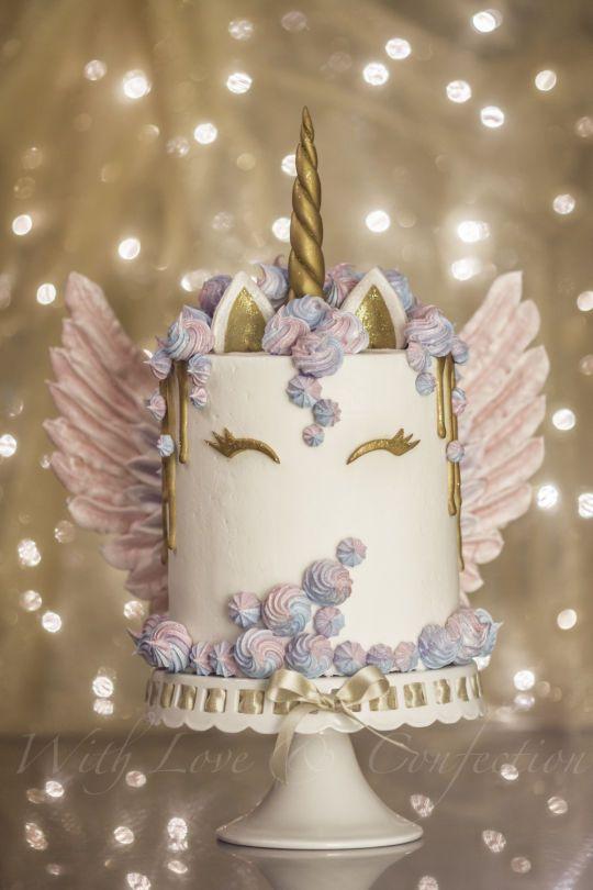 Hermosas tortas de unicornios