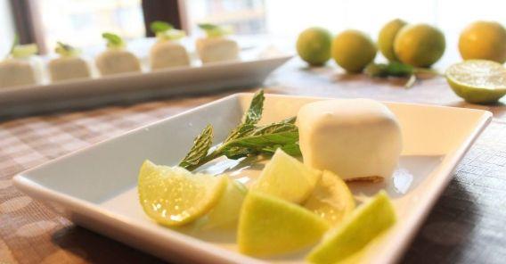 Deliciosos bocaditos de lemon pie