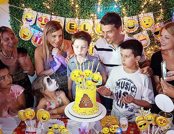Cumpleaños de Emojis
