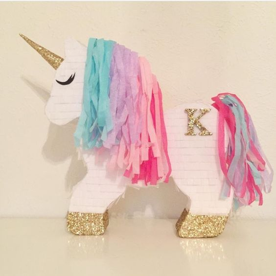 Decoraciones con unicornio