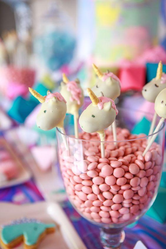 Decoraciones con unicornio