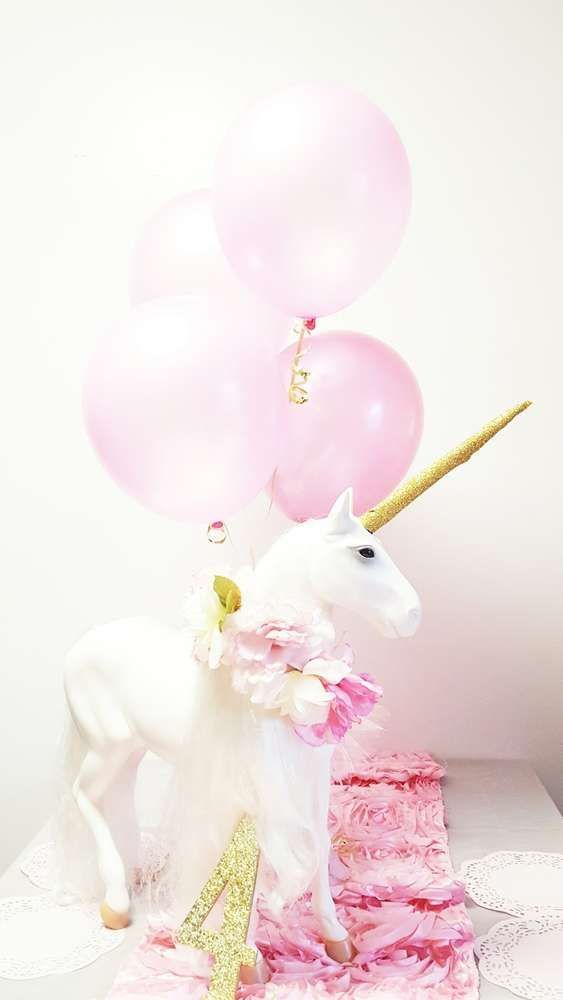 Decoraciones con unicornios