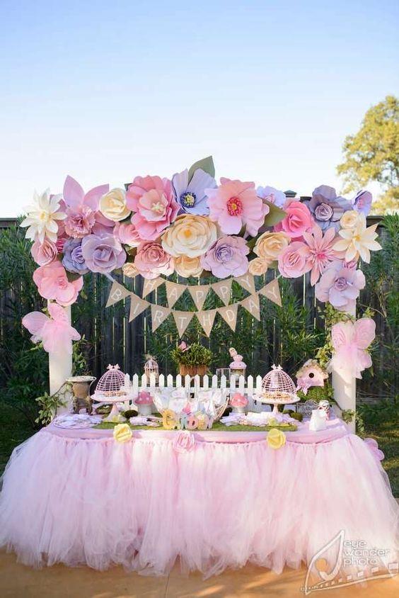 Hermosas decoraciones con flores