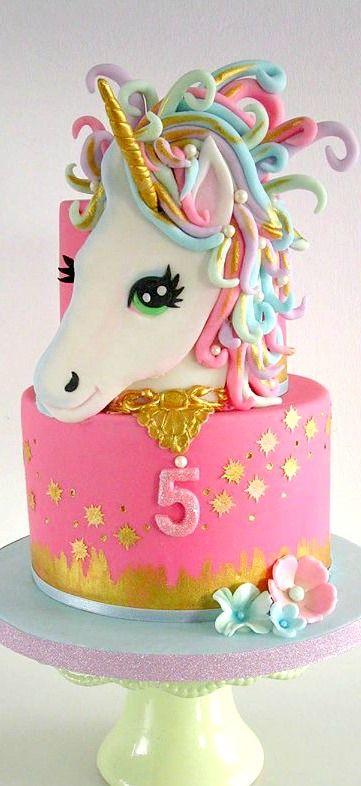 Hermosas tortas de unicornios for Tortenideen