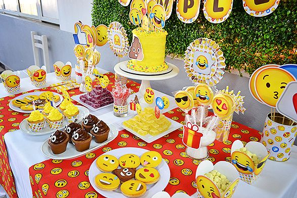 Ideas de fiesta de Emojis