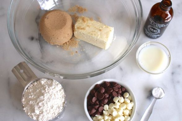 Galletas dulces con queso