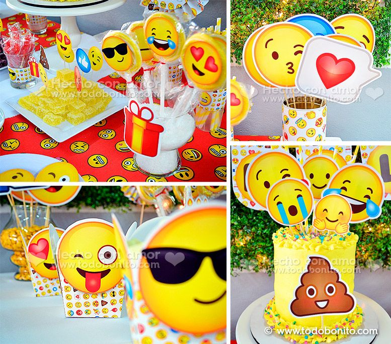 Kits imprimibles Emojis