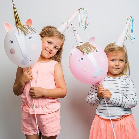 Decoraciones con unicornios