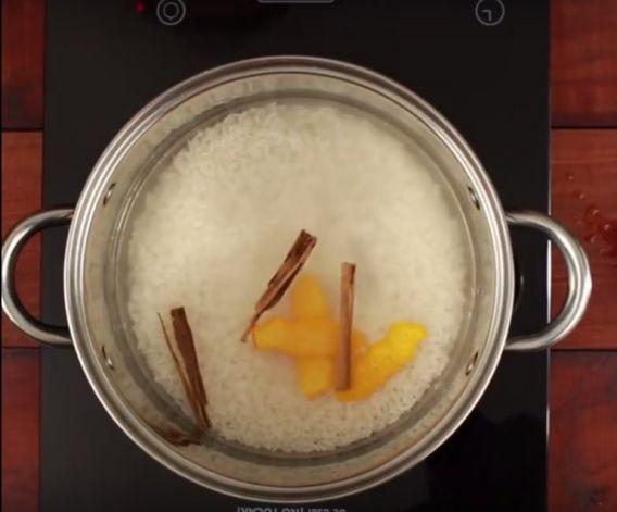Postre arroz con leche