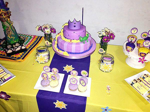 Cumpleaños Rapunzel