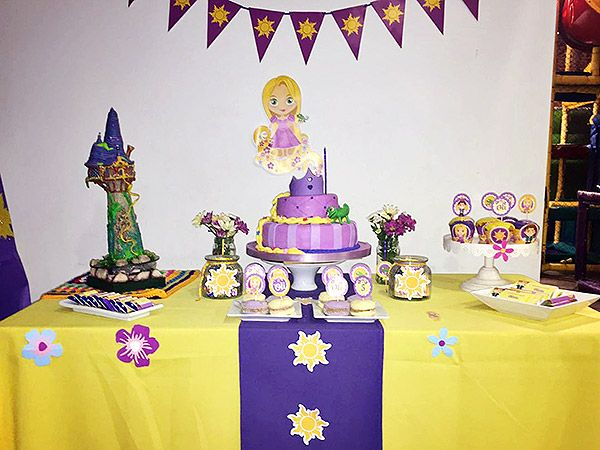 Ideas cumpleaños Rapunzel