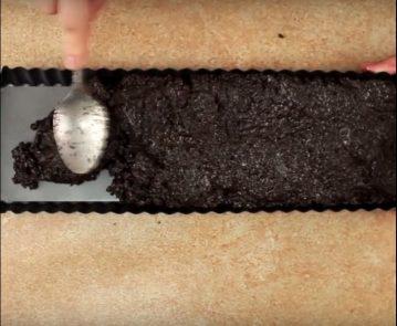 Tarta de chocolate blanco y Oreo