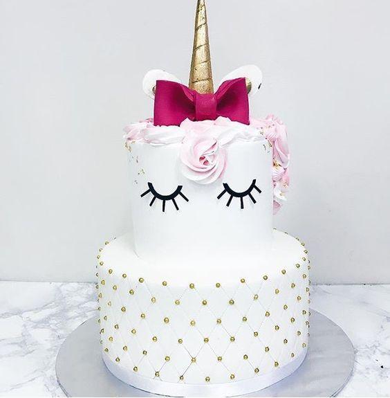 Hermosas tortas de unicornios - Todo Bonito