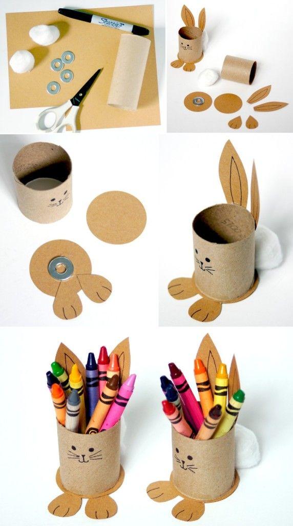 Porta-crayones de Pascuas