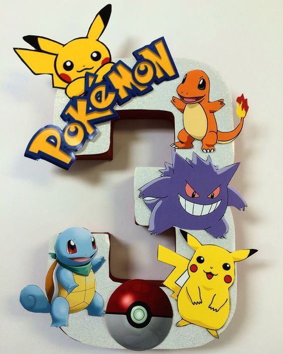 Ideas de decoración de Pokémon