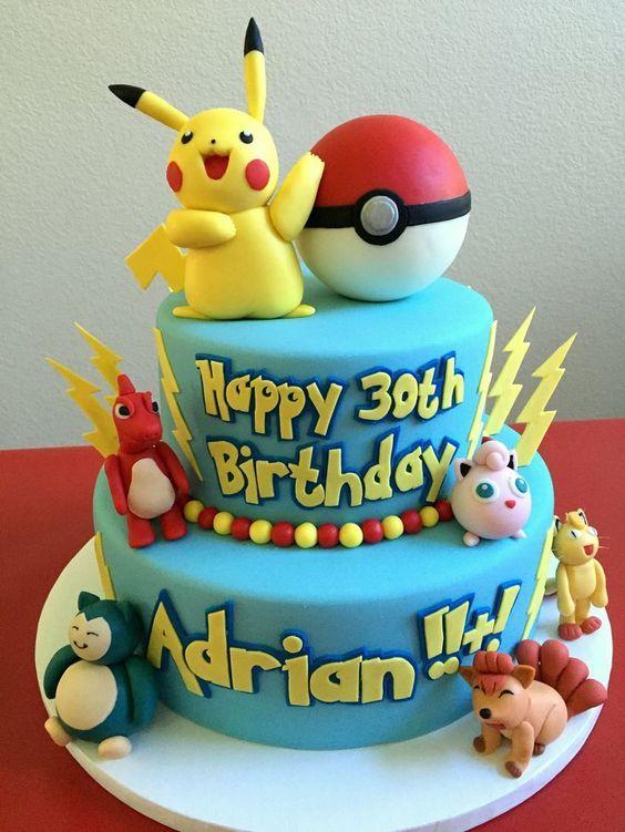 Torta de Pokémon
