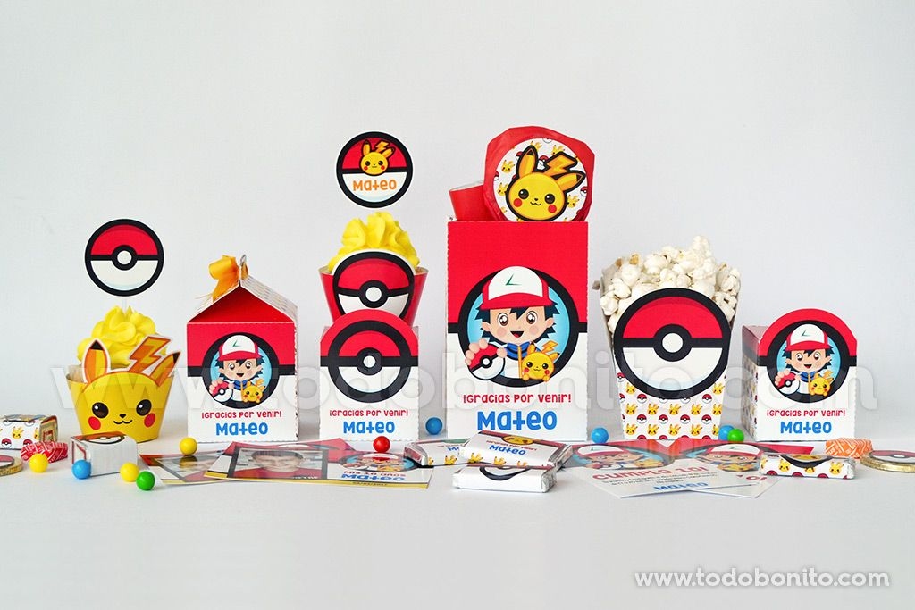 Decoracion Pokemon