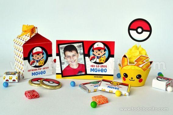 Kits Imprimibles Pokémon para una fiesta genial