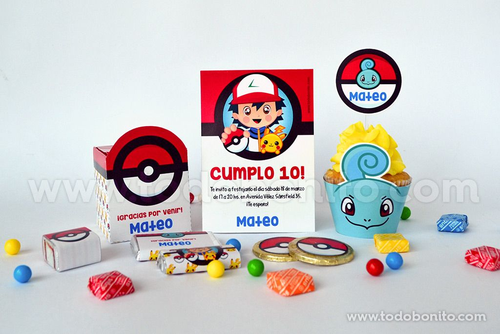 Kits imprimibles Pokemon