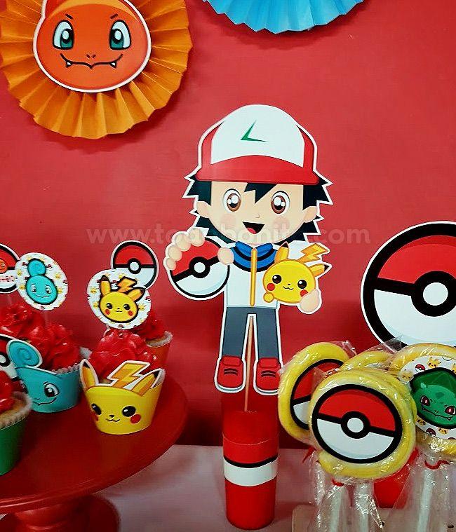 Centros de mesa Pokemon