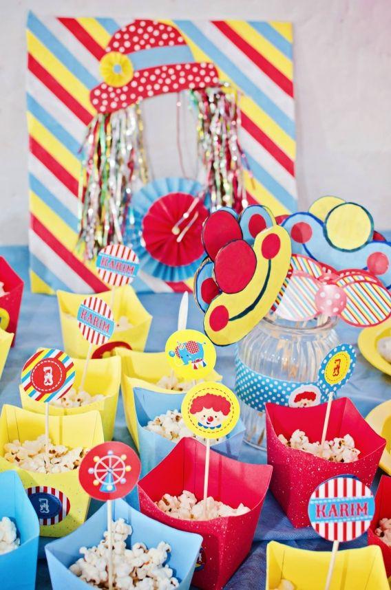 Kit Decoración Circo