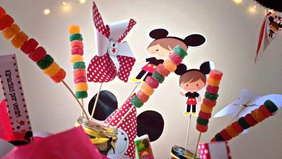 Mesa dulce cumpleaños Mickey