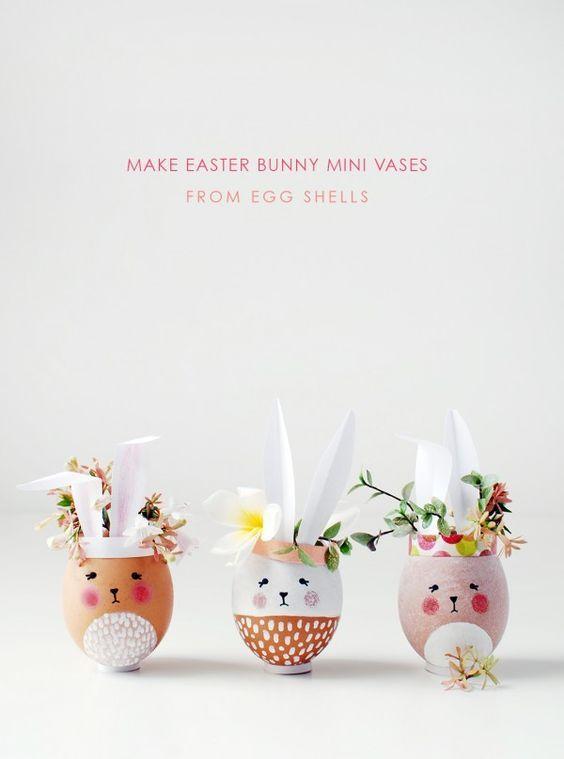 Huevitos decorados de Pascua