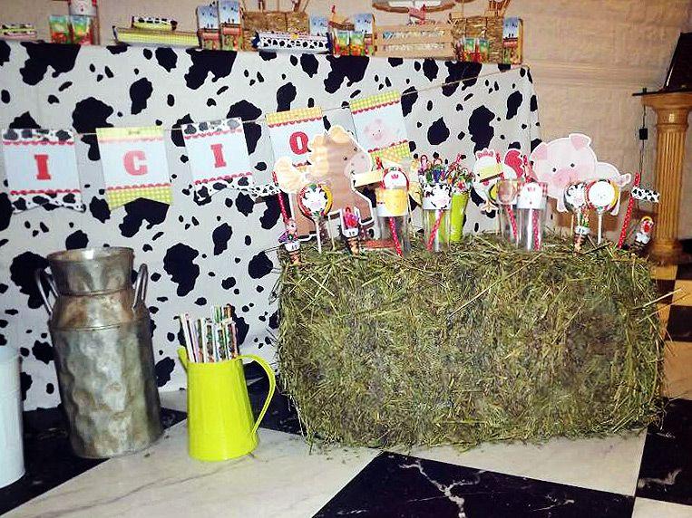 Decoracion animalitos de la granja