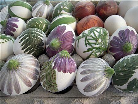 Huevitos decorados para Pascua