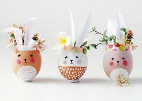 Decoraciones originales para los huevitos de pascuas