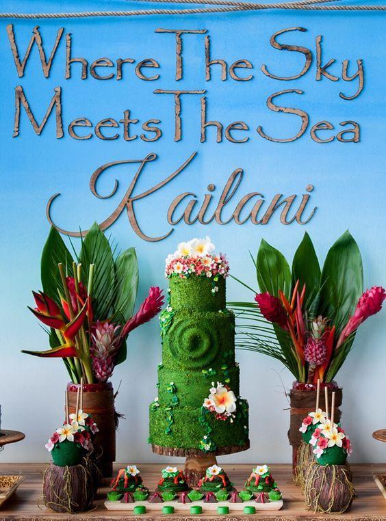 Ideas para decorar con Moana, un mar de aventuras