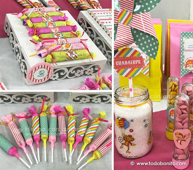 Decoraciones cumpleaños Circo niñas