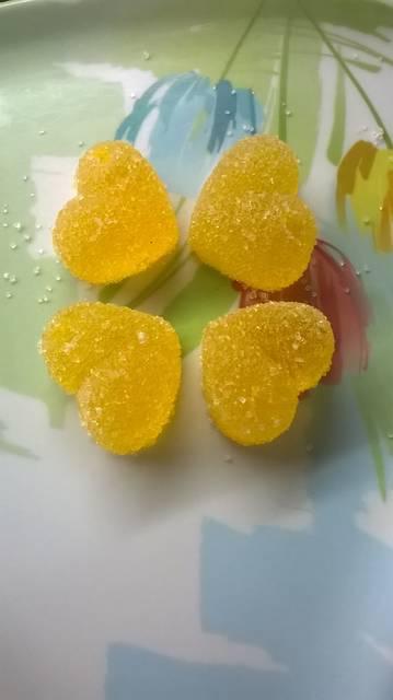 Gomitas caseras de gelatina