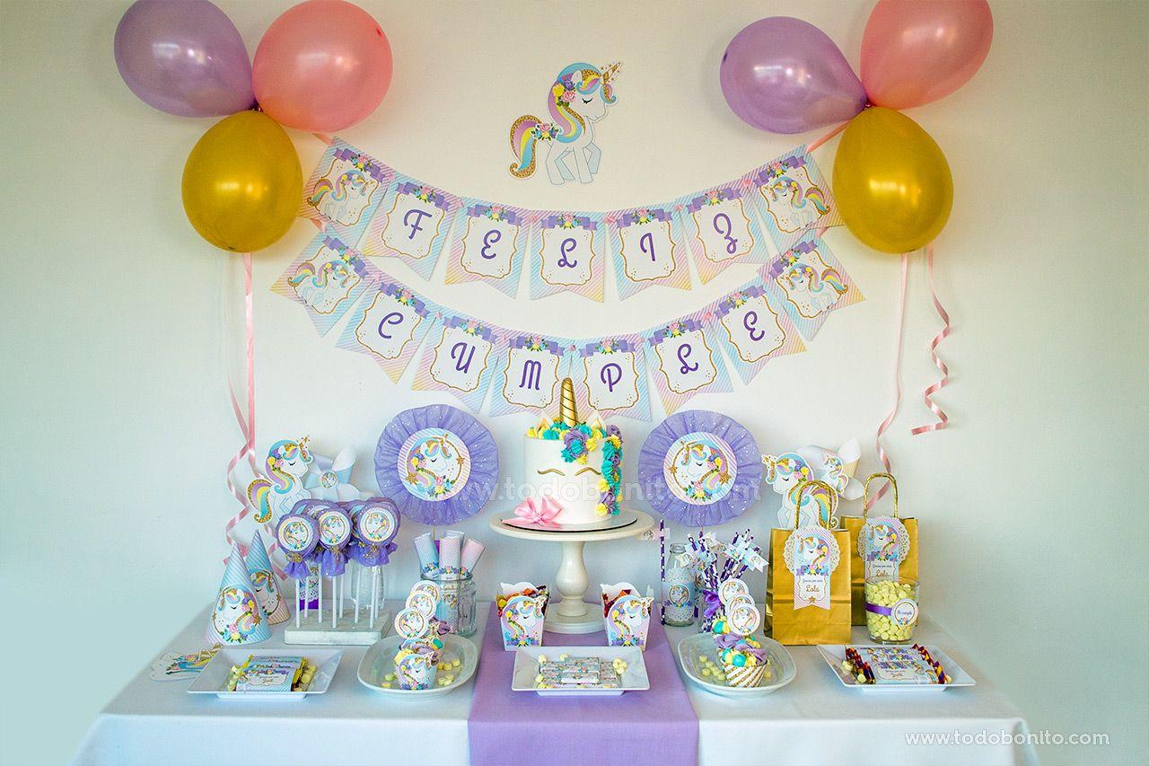 Mesa dulce de Unicornio