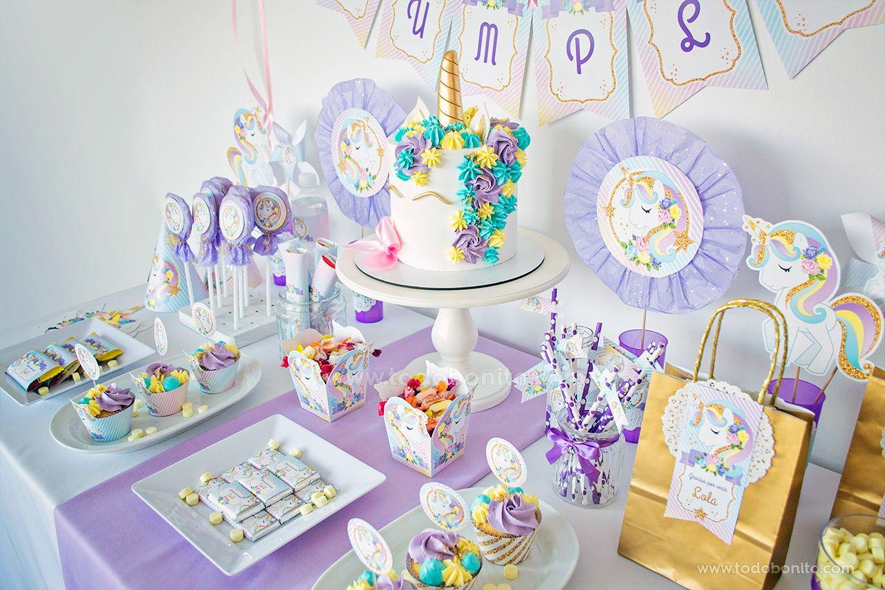 Cumpleaños de Unicornio