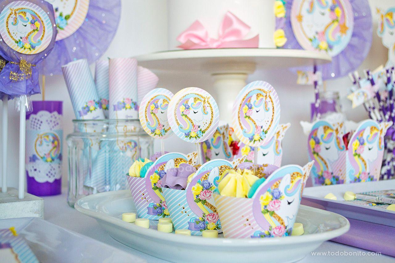 Cupackes de Unicornio