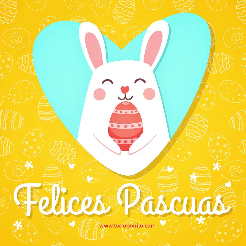 Tarjeta Felices Pascuas