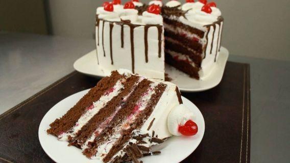Torta selva negra paso a paso