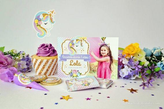 Invitaciones y tarjetas con foto de Unicornio