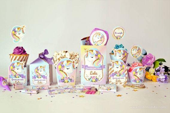 Kits imprimibles de Unicornios