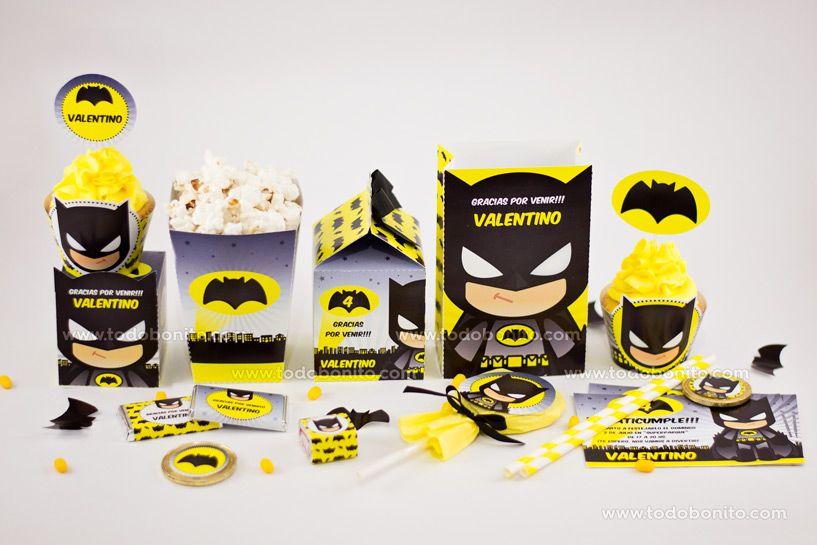 Kits imprimibles Batman