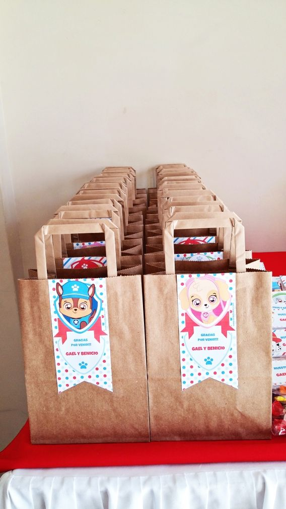 Kits imprimibles de Minions y Paw Patrol