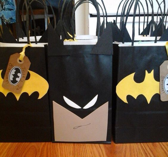 Hermosas ideas para cumples de Batman