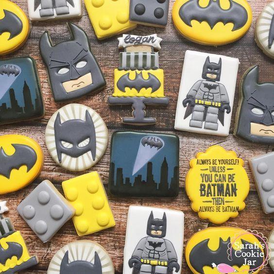 Hermosas ideas para cumples de Batman