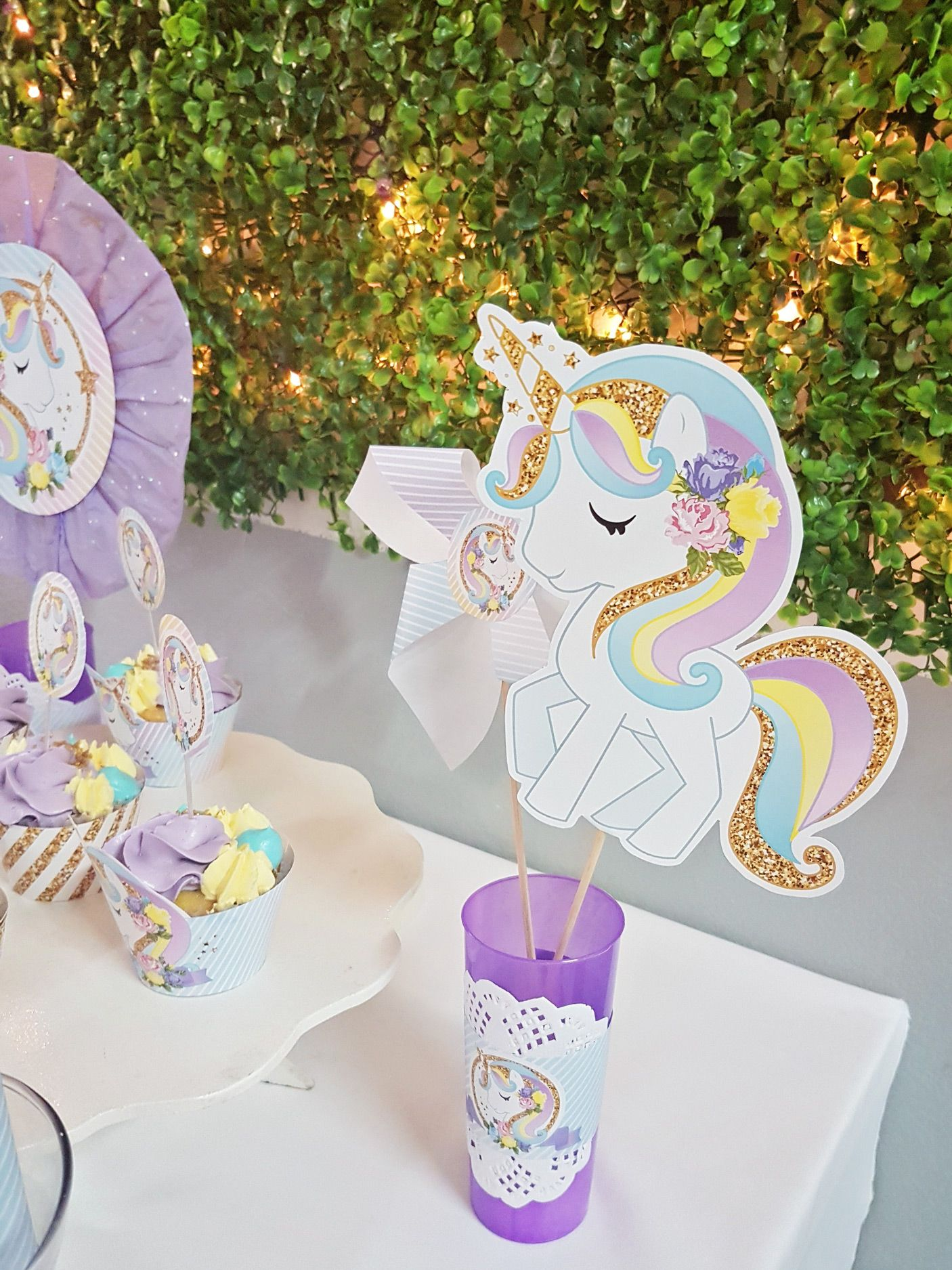 Ideas fiesta de Unicornios