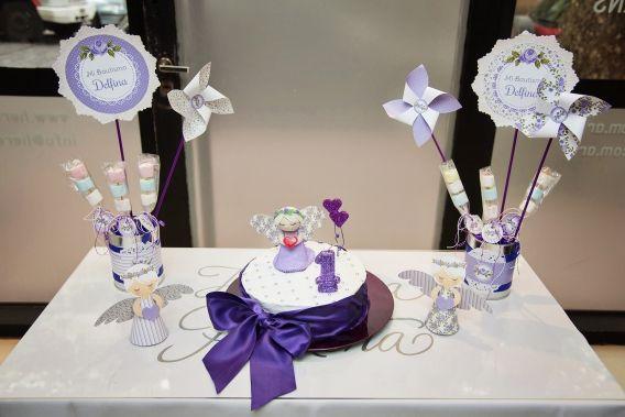 Torta de Shabby Chic lila