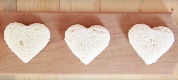 Corazón de Nutella