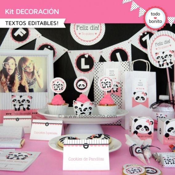 Kit decoración Pandita